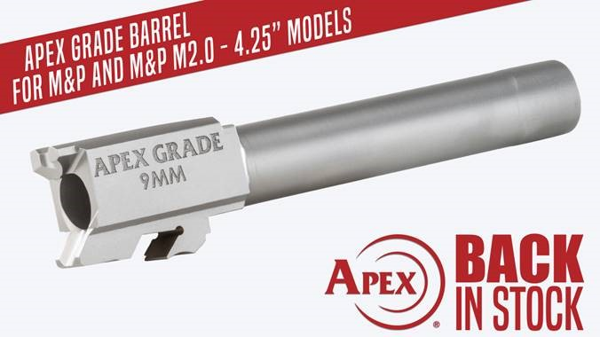 Apex Grade Barrel Back in Stock