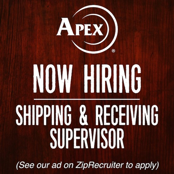 Apex Tactical Specialties Now Hiring