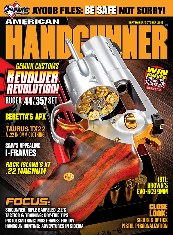 American Handgunner September and October