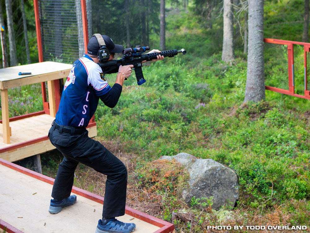 2019 IPSC Rifle World Shoot - Riley Kropff