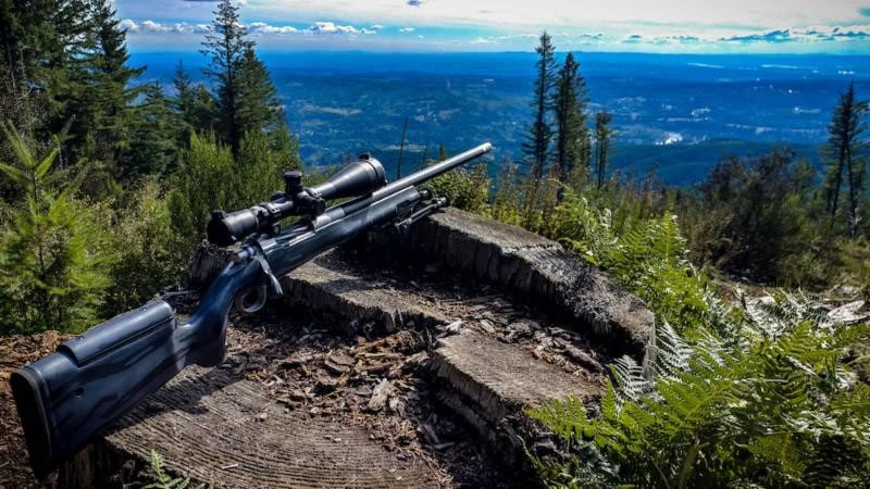 Helix 6 Carbon Fiber Barrel with Atlas Bipod