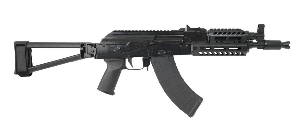 PSA AK-P GF3 Railed MOE ALG Triangle Side Folding Pistol