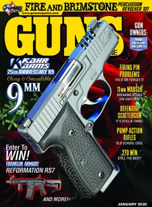 Kahr Arms 25th Anniversary K9 Featured in GUNS