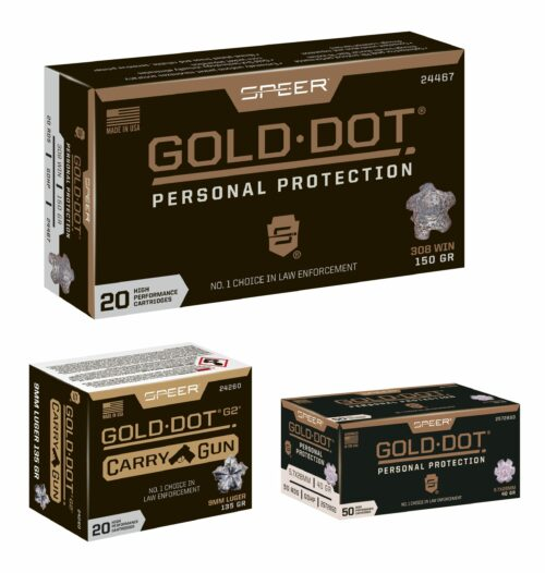 Speer Gold Dot Ammunition