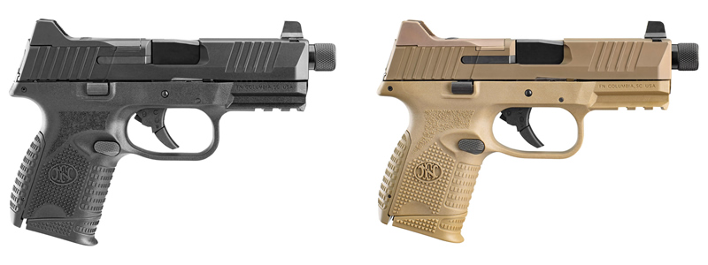 FN 509 Compact Tactical Pistols_FN509C_Black and FDE