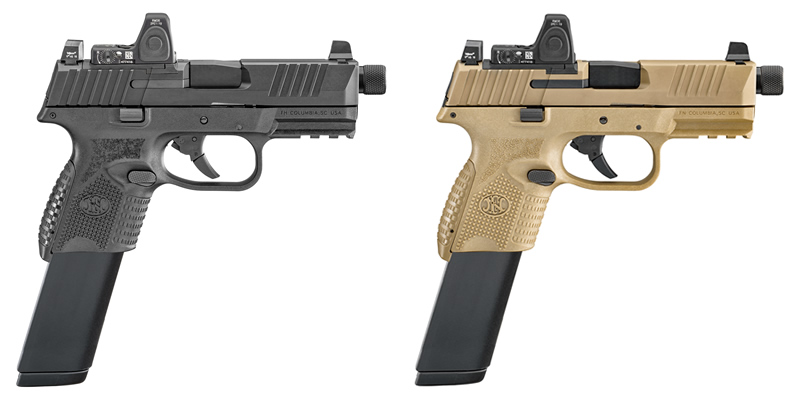 FN 509 Compact Tactical Pistols_FN509C_Black and FDE_24 Rnd