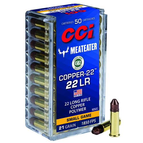 CCI Copper-22 MeatEater 22 LR