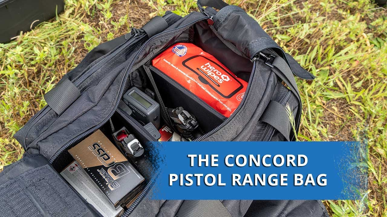 Lynx Defense Pistol Range Bag for Multiple Pistols