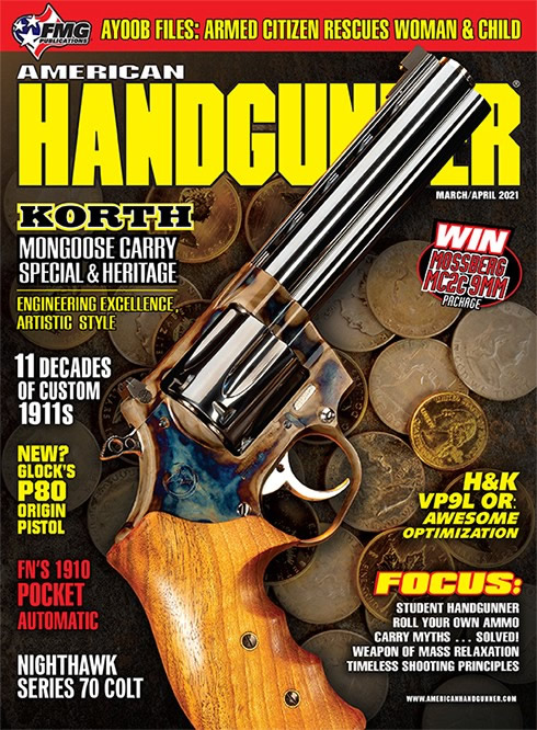 Korth Mongoose Carry Special in American Handgunner