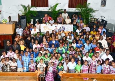 Attendees at the 15th Annual Help-a-Child Program