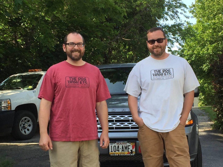 Mark and Greg