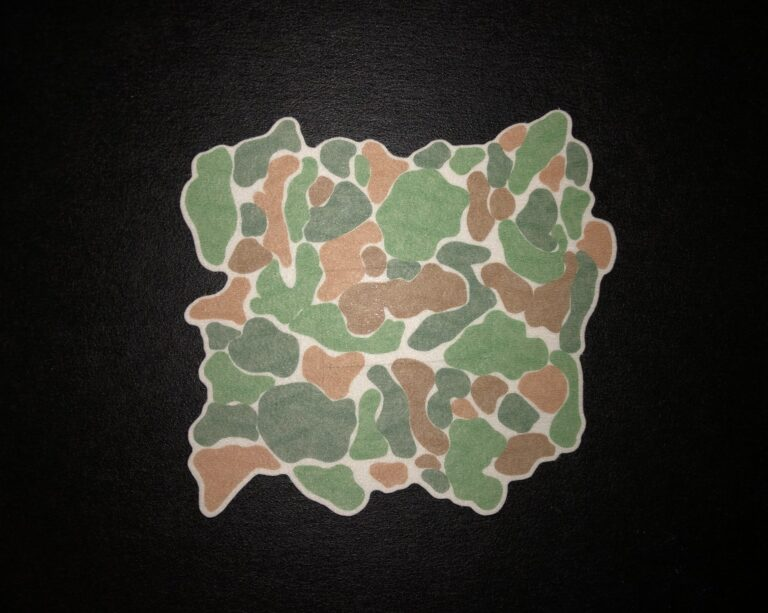 Camo Designed precut adhesive patch to secure all diabetic devices