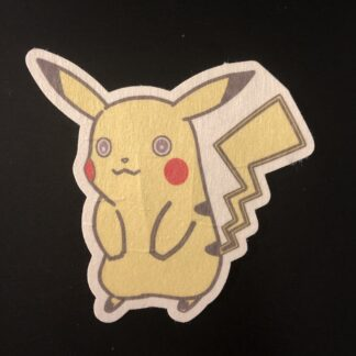 Pikachu Designed precut adhesive patch to secure all diabetic devices