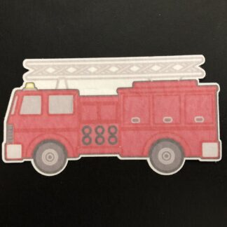 Firetruck Designed precut adhesive patch to secure all diabetic devices