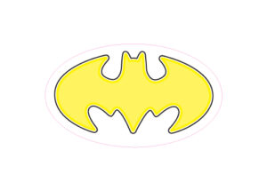 Batman Designed precut adhesive patch to secure all diabetic devices