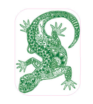 Gecko Designed precut adhesive patch to secure all diabetic devices
