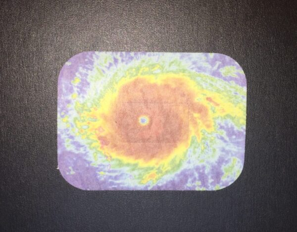 Hurricane Designed precut adhesive patch to secure all diabetic devices