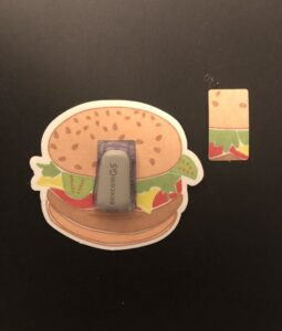 Hamburger Designed precut adhesive patch to secure all diabetic devices