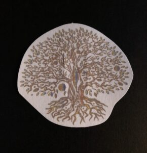 Tree of Life Designed precut adhesive patch to secure all diabetic devices