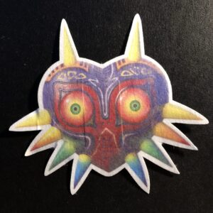 Majora's Mask Designed precut adhesive patch to secure all diabetic devices