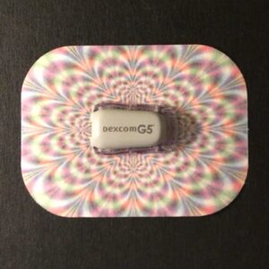 Trippy Designed precut adhesive patch to secure all diabetic devices