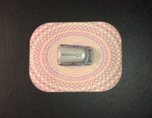 Wow Designed precut adhesive patch to secure all diabetic devices