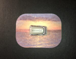 Sunset Designed precut adhesive patch to secure all diabetic devices
