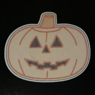 Jack-O-Lantern Designed precut adhesive patch to secure all diabetic devices