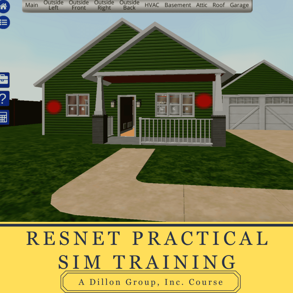RESNET Rater Practical Simulation