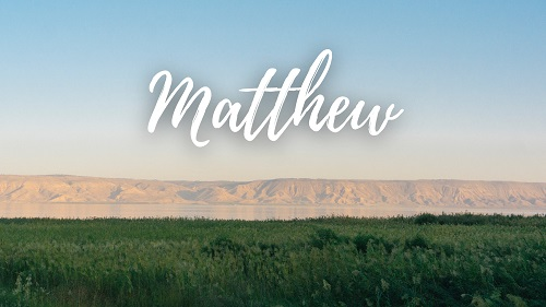 Bible Introduction to MAtthew 3