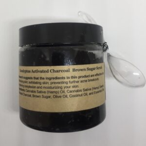 Hemp Activated Charcoal Brown Sugar Scrub
