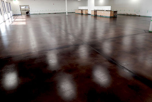 Grind, Seal and Stain Concrete