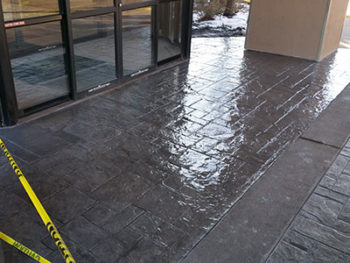 Sealed Concrete - Custom Concrete Prep and Polish