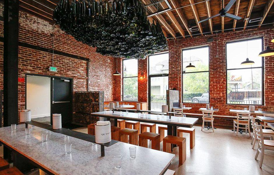 Restaurant remodel 200 grit resin polished, sealed and burnished concrete floor