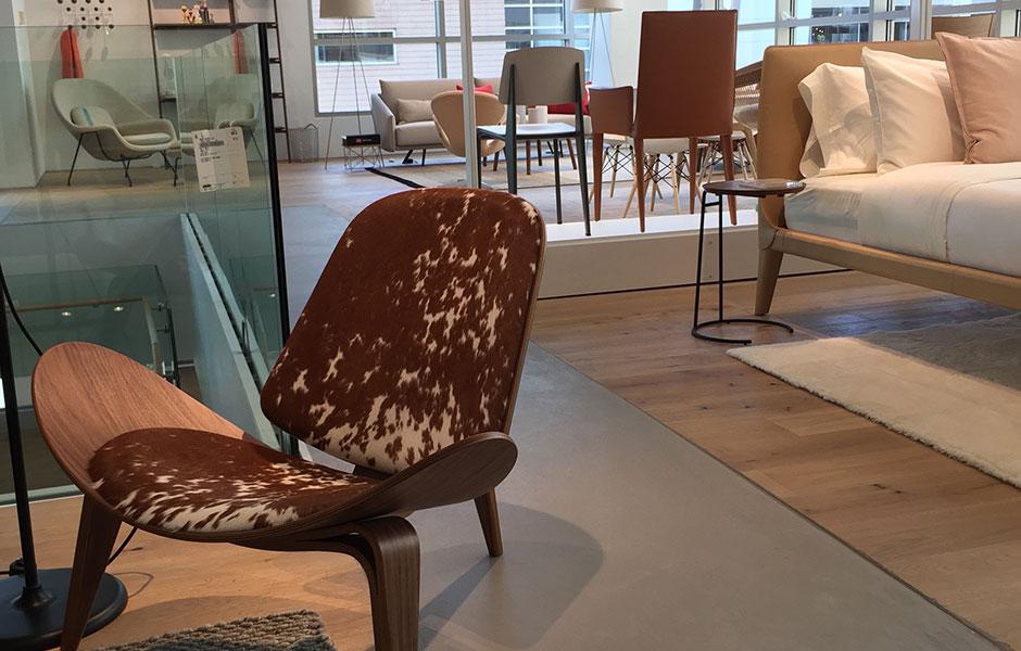 Design Within Reach Custom Concrete Prep and Polish