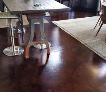 Microtopping, Custom Concrete Prep and Polish