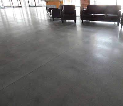 Grind and Seal concrete flooring Custom Concrete Prep and Polish