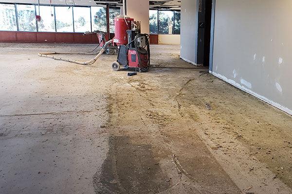 Concrete Floor Glue Removal