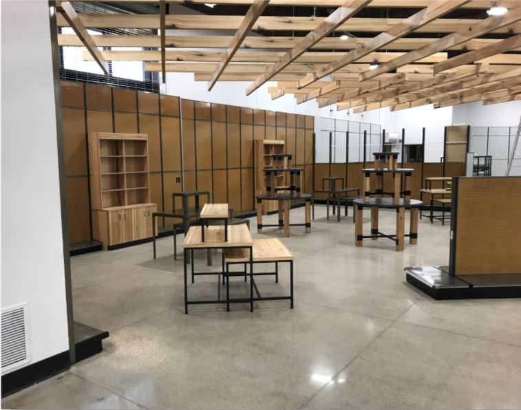 LI Group Initial Construction of Gander Outdoor In-Store Fixtures