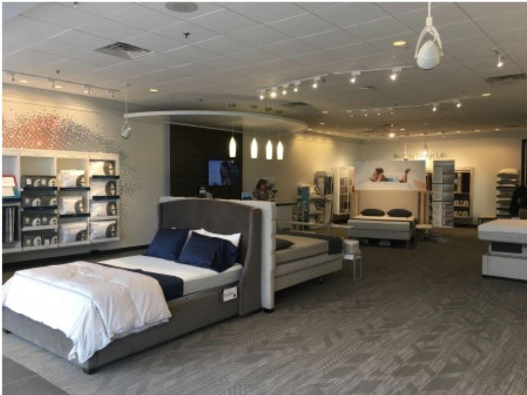 LI Group Construction of Sleep Number Store Set Up