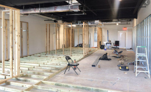 LI Group Construction at Retail Site