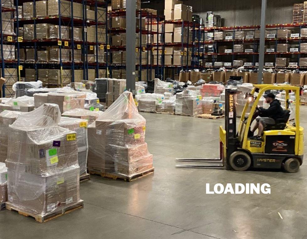 LI Group Logistics Division Project - Life Time Loading