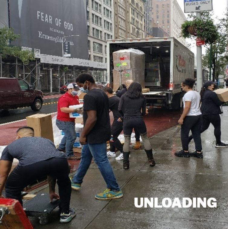LI Group Logistics Division Project - Life Time Unloading