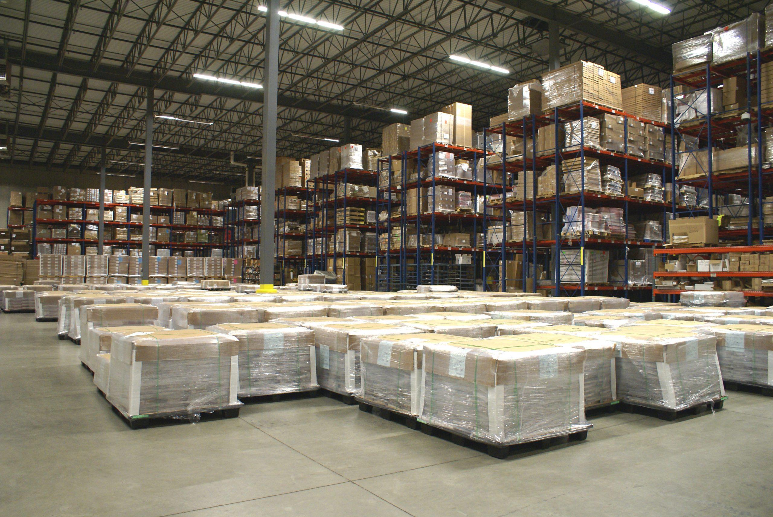 LI Group Warehouse Image - Logistics Page