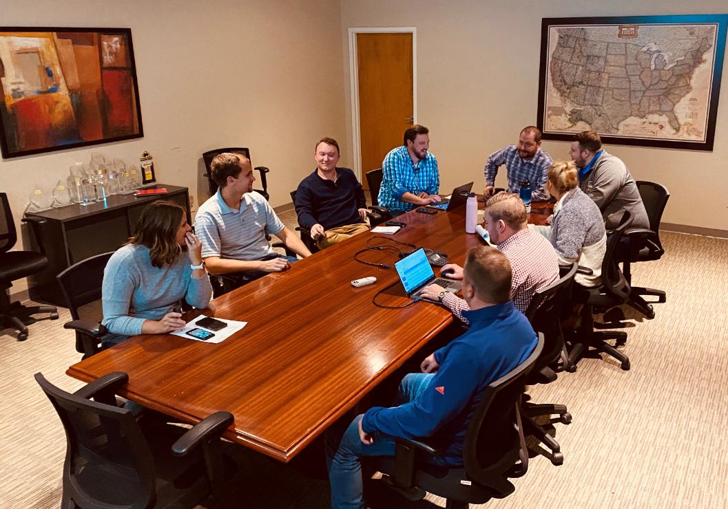 LI Group Meeting Room - One Team One Dream