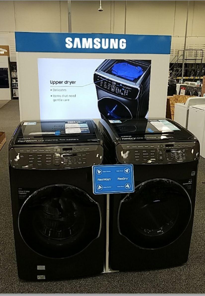 Samsung Washer-Dryer DisplayLI Group Installation Project for Samsung Washer-Dryer Display