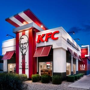 KFC Store Front - LI Group Logistics Client