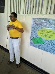 Dr. Terrence Blackman, lead educator