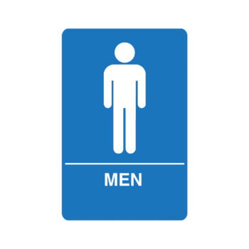 IS1001 – Men's ADA Restroom Sign