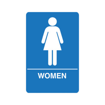 IS1003 – Women's ADA Restroom Sign